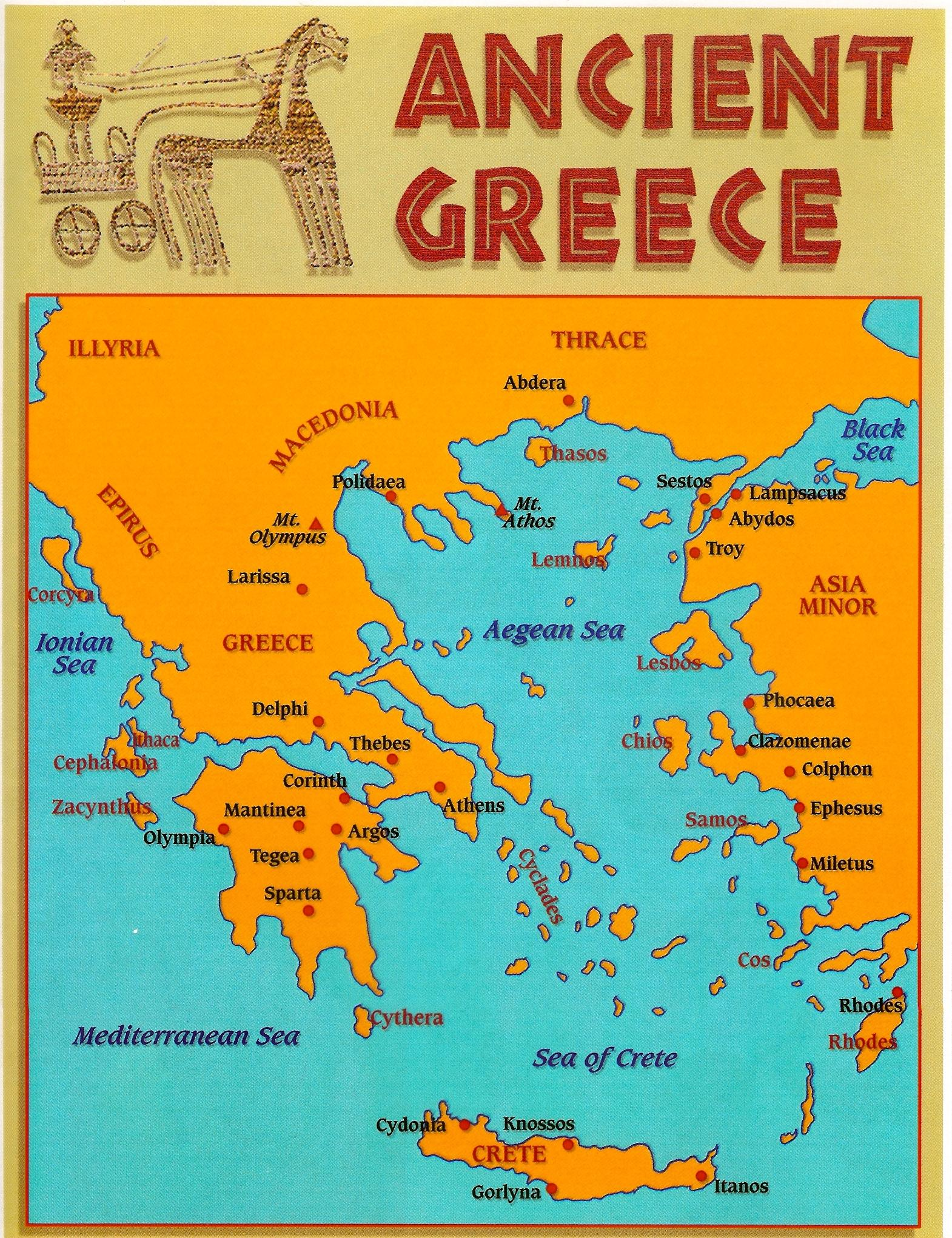 Old greece map map of old greece southern europe europe map of old greece gumiabroncs Image collections