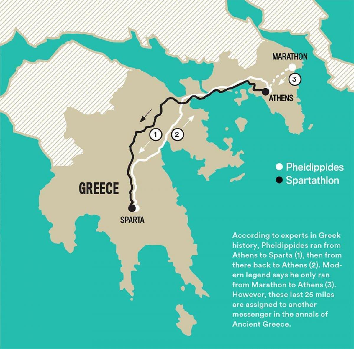Marathon Ancient Greece Map Map Of Ancient Greece Marathon